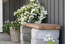 Garden Ideas / A board of outdoor ideas that will make your neighbor extremely jealous...