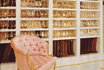 Dream Closets / My dream is to one day own a huge stark white closet with plenty (and I mean PLENTY) of space for heels and handbags...and perhaps some clothing too!