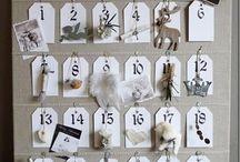 Calendrier de l'avent / Noël Christmas Calendar