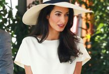 Style Icon - Amal Clooney / Amal Clooney is beautiful in so many ways. Her classic taste in fashion pales in comparison to her drive and determination to fight for the rights of others.
