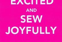DIY Tissu et fils ~ Sewing