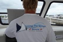 Living The Dream Divers - Merchadise