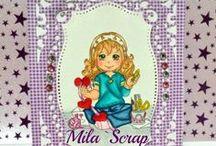 Cartões Mila`Scrap / Todos os Cartões que fazemos e que participam de Desafios.