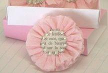 Flores de Papel e tecido