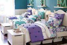 Little Girls Bedroom Ideas / by Marie Saunders