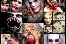 Halloween facepaint & SFX makeup by Face Fantasy BodyArt / Halloween facepaint & SFX makeup designs, Halloween makeup made by Face Fantasy Amersfoort  #halloween #zombie #SFX #makeup #facefantasy #witch #monster #evil #death #creature #fantasy  www.facefantasy.nl