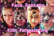 Kids Facepaint / schminken by Face Fantasy   BodyArt / #kids #facepaint #schminken #kinderfeestjes #kidsfacepainting #facepainting #kinderenschminken #schminker #Amersfoort