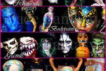 Facepainting by Face Fantasy | BodyArt / Facepaint  Facepainting  Makeup   Schminken  schminker  Evenementen Events Kinderfeestjes Amersfoort