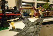 Lego / Lego modular, mocs and trains.  AFOL