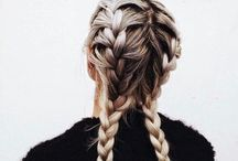 Pretty Plaits. / A board of the prettiest and easiest plaits for every woman to achieve.