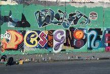 11. Spray it! / Wonderful graffiti afternoon with the artist Martin Zach!