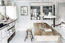 Home Decor: Kitchen. / A board full of an ideal and dreamy kitchen to cook the most amazing food.