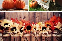Thanksgiving Decor and Planning /  Thanksgiving decorating ideas, crafts, and Thanksgiving event planners.