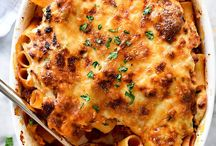 Pasta Recipes / A collection of tasty pasta recipes including: casseroles (lasagna, stuffed shells, baked ziti) spaghetti, seafood and pasta, cream based, Alfredo, pasta salads, and tomato sauce pasta for fast weeknight meals plus those that take a little more time.