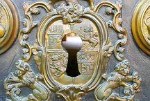 Details: Door Locks, Knobs and Knockers