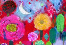 my artwork / Paintings, Collage, and Encaustics