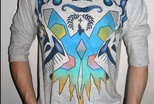 Ordered t-shirts (Handpainted) / A collection of hand painted one of a kind t-shirts. More at www.sasadesign.com