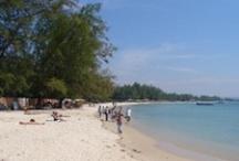Séjour au Cambodge / Un séjour au Cambodge...une option idéale pour se ressourcer. Des plages de sable blanc, des hôtels de charmes...tous les éléments nécessaires pour un séjour farniente !
