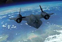 AVION DE COMBAT  SR-71 BLACKBIRD