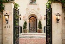 Exterior Design: A Dramatic Entrance