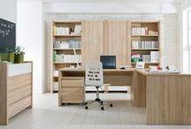 Twoje nowe biuro / Stwórz przestrzeń biurową odpowiadającą Twoim potrzebom biznesowym. Zobacz propozycje Black Red White na meble biurowe lub aranżacje do gabinetu.