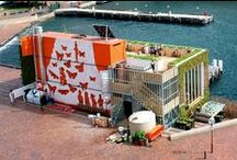 Container homes inspiration / Cheap, creative housing