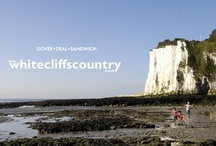 The White Cliffs of Dover / Welcome to White Cliffs Country... Here we have an array of photos taken from our doorstep at the English Channel - Dover, Deal and Sandwich have definitely got what you're looking for...