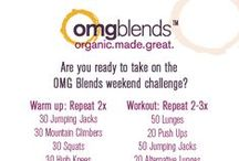 OMG Blends | Fitness / by OMG Blends