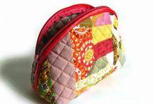 cucito - borse, astucci, portamonete in tessuto / e molto altro..... / by Mariellam