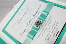 Wedding Invitations & Cards / Handmade Luxury Wedding Cards