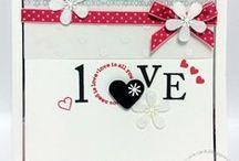 Valentine Cards / Handmade Luxury Cards