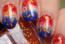 """Holland / Nail art designs for #Kingsday, The World Cup and other """"I'm a Dutchie"""" designs #Koningsdag #WorldCup #Holland"""