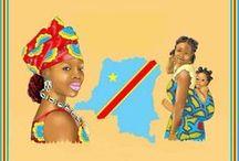A la mode de chez moi / L'art culinaire congolais version a la kinoiserie. Les secrets de mama Africa. S'est ajoute a la liste quelques souvenir de la RDC...