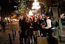 Our Walking Tours / Discover Vancouver's dirty history. Our storytellers lead you on an adventure along cobblestone streets and down moonlit alleys to the little-known locations and hidden secrets of Vancouver's past. You'll relive tales of mobsters and bathtub gin, bejewelled showgirls and unsolved Victorian murders. Designed for adult audiences.