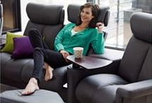 HOME THEATER / Enjoy your favorite entertainment at home with our luxurious media room seating options.