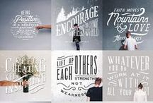 Lettering & Quotes
