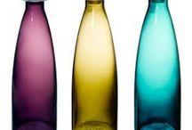 Bottles, Jars, Glas / Seeing through.