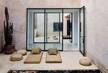 Moroccan Style (Project Specific) / Moroccan interiors, with an emphasis on plaster and tile design