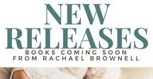 New Releases / Follow this board to find out what books are coming soon from Author Rachael Brownell.