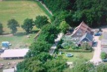 Herterij Twente/ Vakantiewoningen /  Drie vakantiewoningen op het erf en een uniek gelegen woonboerderij, 150 m verderop, maken het mogelijk om meerdere dagen in Twente te verblijven. Herterij Twente is een boerderij met edelherten in het prachtige Twentse landschap. De oude boerderij is vervangen door een stoer gebouw met horecafunctie en diverse activiteiten.