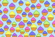 Milimari Stoffdesign bei stoff'n / Eine Auswahl meiner bisher entworfenen Stoffdesigns bei stoff'n http://www.stoffn.de/profil/user/Milimari.html