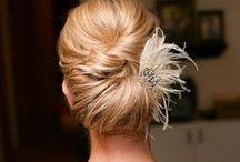 cabelos e maquiagem noivas / bride make up and hairstyle