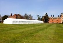 General Show Marquees / Marquees supplied for country fayres and trade shows