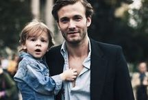 Father & Son / This Father's Day celebrate Dad with great styles from #soxiety