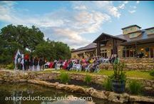 Weddings At Hidden Falls Spring Branch / Weddings, receptions at sunset.  Hidden Falls, Remi's Ridge, Hayes Hollow.