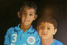 Mis obras / Pinturas de A Romero para Turetratopop.com