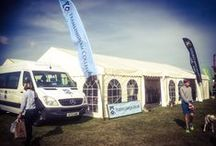 The Suffolk Show / Marquees supplied to trade stands for the Suffolk Show held at Trinity Park, Ipswich