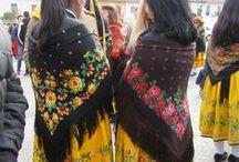 trajes típicos / trajes utilizados en fiestas nacionales o regionales