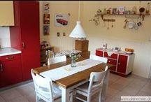 Farbgestaltung Küche / Wie wirkt sich die Farbgestaltung in der Küche aus.