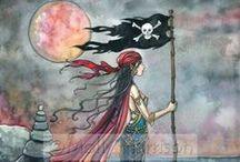 Piratas, ciganos, mágicos, cavaleiros, highlanders... / Do mar, da terra e do ar